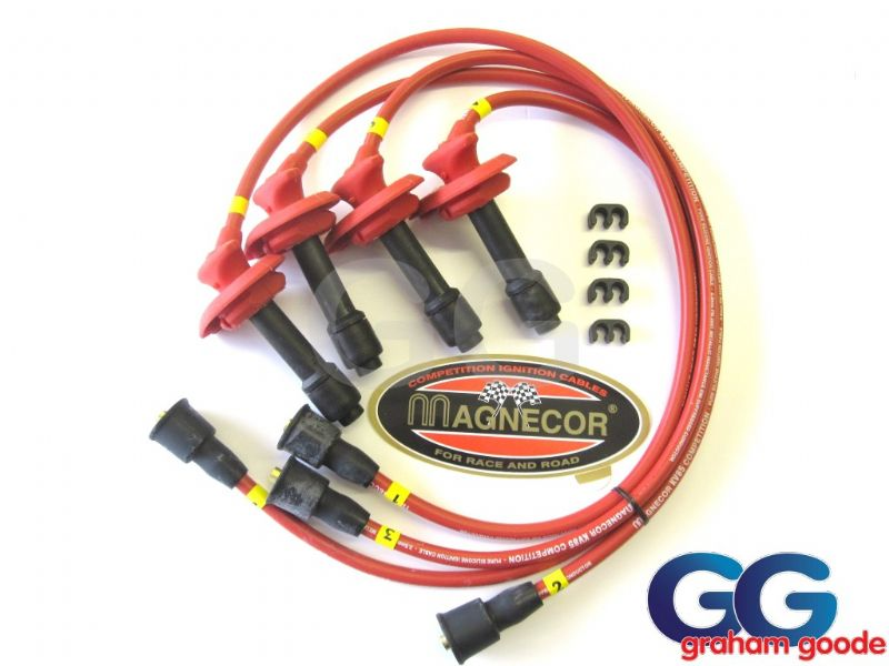 Impreza Version 3/4 Magnecor Ignition HT Leads KV85 Classic EJ20 96-98 GGS2073 45205